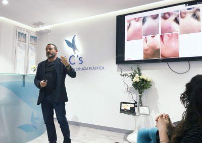 Le Clinic Galderma Daniel del Río